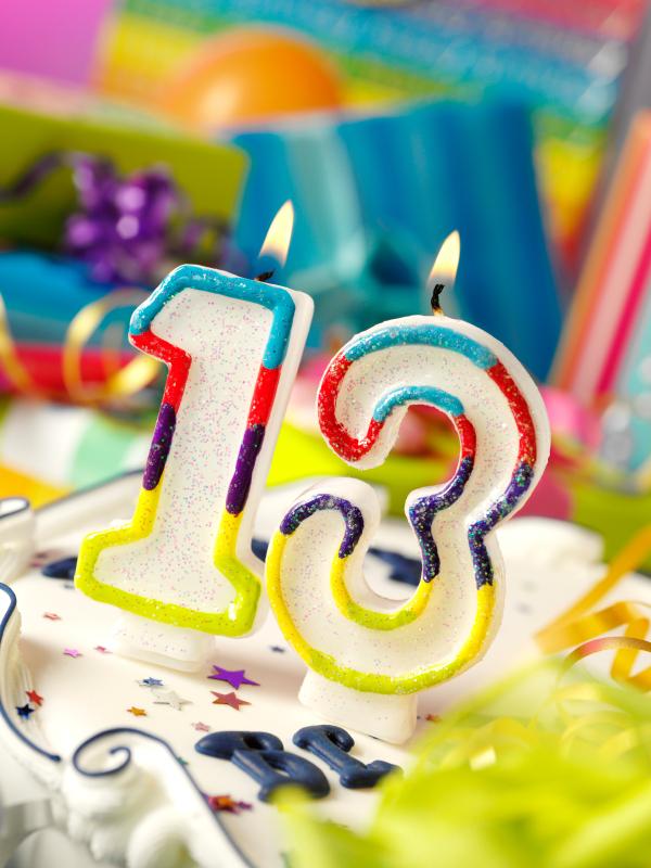 Поздравления на день рождения с 13 летием